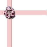 Het roze Lint van de Pastelkleur Stock Illustratie