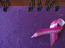 Het roze Lint van de Voorlichting van Kanker van de Borst Gezondheidszorg en geneeskundeconcept Royalty-vrije Stock Foto