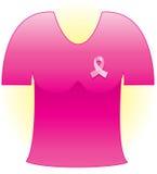 Het roze Lint van Kanker Stock Afbeeldingen