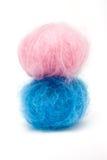 Het Roze n Blauw van de baby Stock Foto
