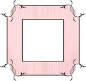 Het roze ontwerp van het Frame Stock Fotografie