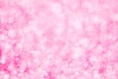 Het roze schittert achtergrond Abstracte textuur Stock Afbeeldingen