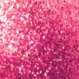 Het roze schittert op een zachte vage achtergrond. EPS 8 Stock Afbeelding