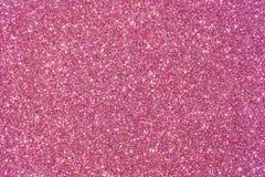 Het roze schittert textuur abstracte achtergrond Stock Afbeelding