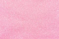 Het roze schittert textuur abstracte achtergrond Stock Foto