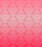 Het roze sierpatroon van de luxe Royalty-vrije Stock Afbeeldingen
