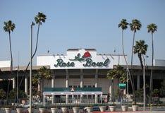 Het roze Stadion van de Kom, Pasadena, CA Stock Foto
