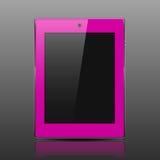 Het roze van de tabletcomputer Royalty-vrije Stock Afbeeldingen