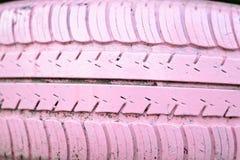 Het Roze van het bandwiel Royalty-vrije Stock Foto's