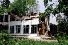 Het ruïnehuis Stock Foto's