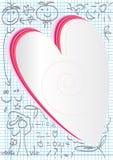 Het Rubber van de liefde met de theorie van de Liefde Royalty-vrije Stock Foto's