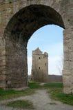 In het Rudelsburg-kasteel, Duitsland Royalty-vrije Stock Afbeelding