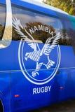 Het Rugbyunie van Namibië Bus Royalty-vrije Stock Afbeeldingen