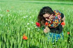 Het ruiken als de lente Stock Foto