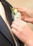 Het ruikertje van het huwelijk Stock Afbeelding