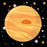 Het ruimteconcept van heelalplaneten royalty-vrije illustratie