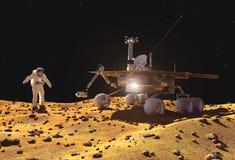 Het ruimtevaartuig stock illustratie
