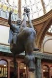 Het ruiterstandbeeld van St Wenceslas royalty-vrije stock afbeelding