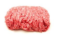 Het rundvlees hakt fijn Stock Afbeelding