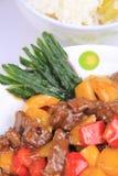 Het Rundvlees van de zwarte peper stock foto's