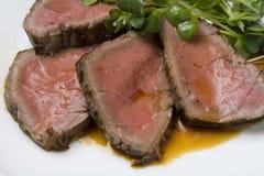 Het rundvlees van het braadstuk Royalty-vrije Stock Foto
