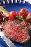 Het rundvlees van het braadstuk stock afbeelding