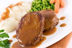 Het Rundvlees van het braadstuk Stock Foto