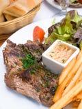 Het rundvlees van het lapje vlees royalty-vrije stock foto's