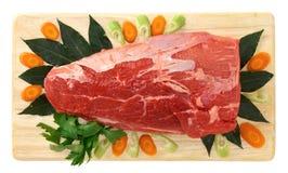 Het rundvlees van het vlees Royalty-vrije Stock Afbeeldingen