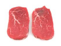 Het rundvleesoog van Angus om lapje vlees Royalty-vrije Stock Foto