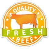 Het rundvleesteken van de kwaliteit Stock Afbeeldingen