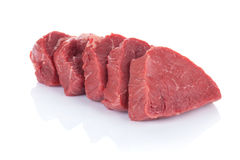 Het rundvleesvlees van het filetlapje vlees Royalty-vrije Stock Fotografie
