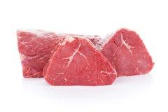 Het rundvleesvlees van het filetlapje vlees Royalty-vrije Stock Foto