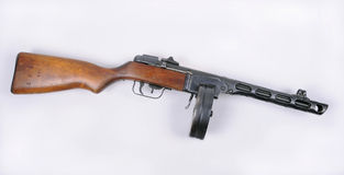 Het Russische machinegeweer van PPsH 1941 Royalty-vrije Stock Foto's