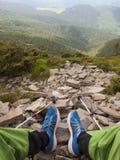 Het rusten in de bergen Stock Fotografie