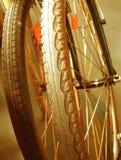 Het rusten van fietsen stock afbeeldingen