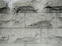 Het rustieke Ontwerp Geweven Patroon van de Steenmuur, Grunge-Oppervlaktearchitectuur Stock Fotografie