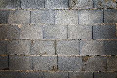 Het ruwe beton van de muurbaksteen stock foto