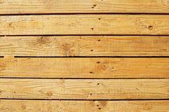 Het ruwe houten inschepen Stock Foto's