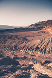 Het Ruwe Landschap van de doodsvallei Stock Afbeelding