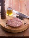Het ruwe Lapje vlees van Rundvleeswagyu Royalty-vrije Stock Afbeelding