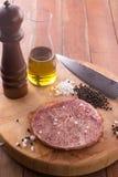 Het ruwe Lapje vlees van Rundvleeswagyu Royalty-vrije Stock Afbeeldingen