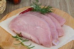 Het ruwe lapje vlees van Turkije Royalty-vrije Stock Afbeeldingen