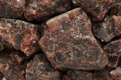 Het ruwe Organische Zwarte Zout of Kala van Himalayan namak Stock Afbeelding