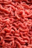Het ruwe rundvlees hakt fijn Royalty-vrije Stock Foto's