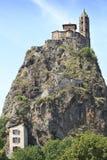 Het Saint Michel DE Aiguilhe van Chapelle Stock Fotografie