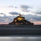 Het Saint Michel van le Mont Royalty-vrije Stock Afbeelding