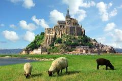 Het Saint Michel van Mont Royalty-vrije Stock Fotografie