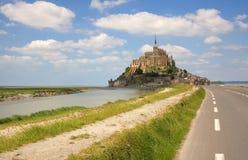 Het Saint-Michel van Mont Stock Foto's