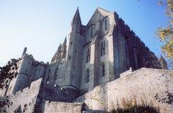 Het Saint Michel van Mont in Normandië, Frankrijk Stock Fotografie
